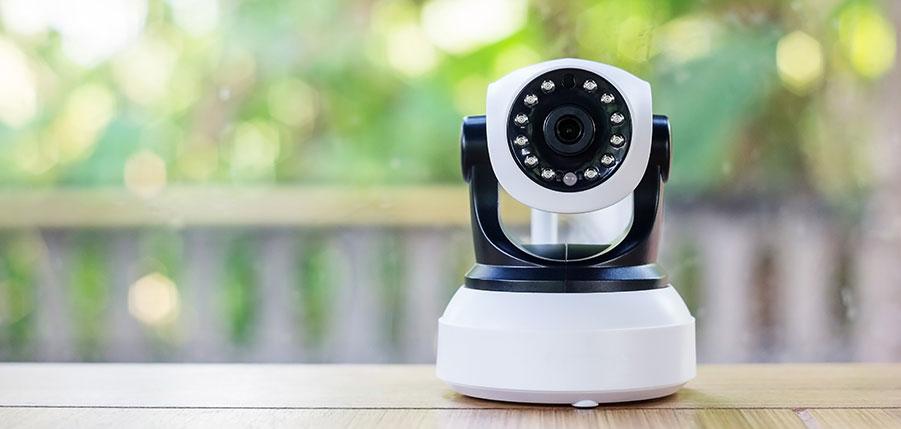 Kameraövervakning av lager och butik